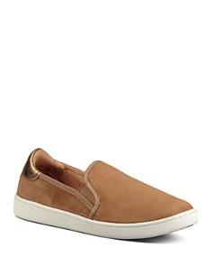 UGG® - Women's Cas Leather Slip On Sneakers