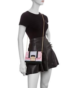 Furla - Metropolis Nuvola Color-Block Knit Crossbody