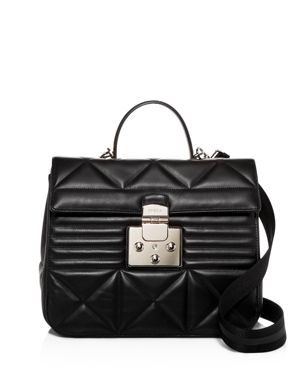 Furla Fortuna Quilted Leather Convertible Satchel 3098046