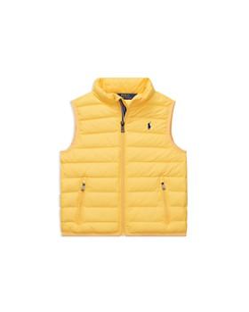 Ralph Lauren - Boys' Lightweight Packable Puffer Vest - Little Kid