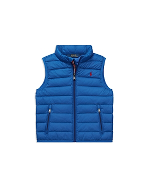 Polo Ralph Lauren Boys' Lightweight Packable Puffer Vest - Little Kid