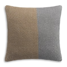 Highline Bedding Co. - Colorblock Knit Euro Sham - 100% Exclusive