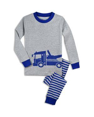 Sara's Prints Boys' Tow Truck Pajama Shirt & Pants Set - Little Kid 3083998