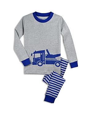 Saras Prints Boys Tow Truck Pajama Shirt  Pants Set  Little Kid