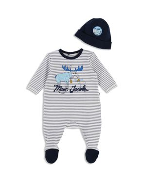 Little Marc Jacobs Boys' Footie & Beanie Set - Baby
