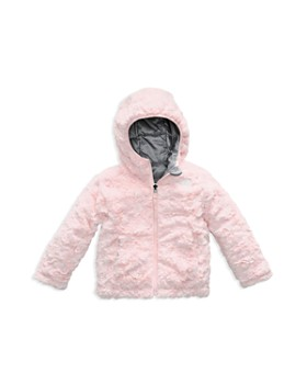 The North Face® - Girls' Reversible Mossbud Swirl Quilted & Fleece Jacket - Little Kid