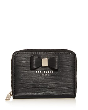 cb997f446f9c Ted Baker - Small Embossed Leather Zip Wallet ...