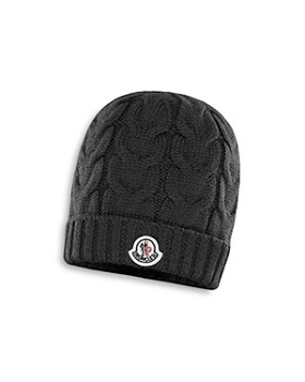 Moncler - Unisex Berretto Cable-Knit Wool Beanie - Big Kid ...