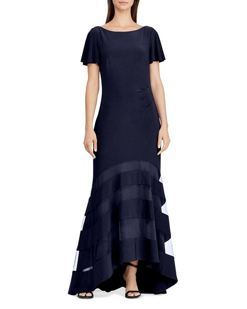 Ralph Lauren Illusion Jersey Gown | Bloomingdale\'s