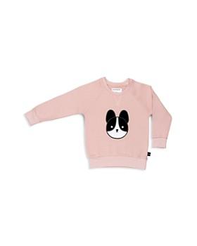 Huxbaby - Girls' Frenchie Appliqué Fleece Sweatshirt - Baby