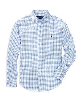 Ralph Lauren - Boys' Windowpane Check Button-Down Shirt - Little Kid, Big Kid