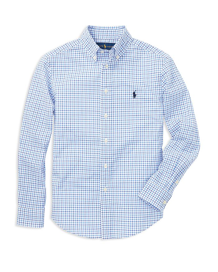 7dce55cd Ralph Lauren Ralph Lauren Boys' Button Down Shirt - Big Kid ...