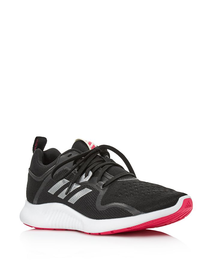 los angeles d787a ee895 Adidas - Womens Edgebounce Mesh Lace Up Sneakers
