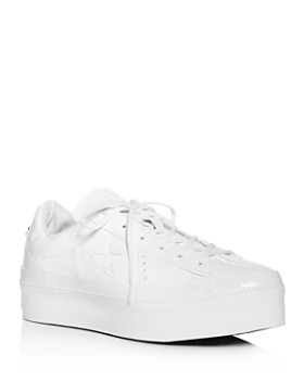 Converse - Women's One Star Lace-Up Platform Sneakers