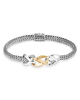 JOHN HARDY - Sterling Silver & 18K Yellow Gold Classic Chain Slim Bracelet