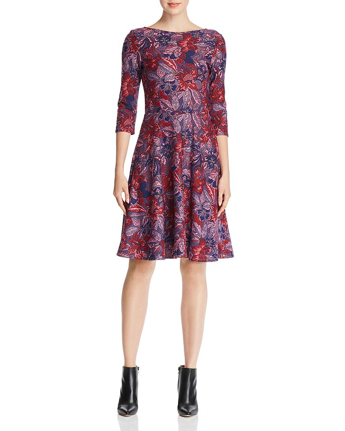 0f0114e07d0 Leota - Ilana Floral Jacquard Dress