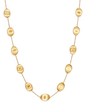 Marco Bicego - 18K Yellow Gold Lunaria Station Necklace, 36""