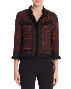 kate spade new york Metallic Tweed Jacket