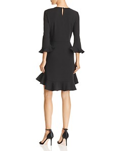 nanette Nanette Lepore - Flounced Crepe Dress