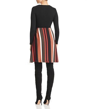 Marella - Bello Knit & Striped Skirt Dress