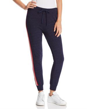 Sundry Track Stripe Slim Sweatpants