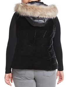 Marc New York Plus - Velvet Down Puffer Vest