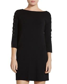 Bailey 44 - Kopeck Lace-Up Sleeve Dress