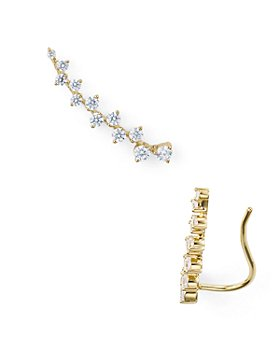 Nadri - Aura Single Pavé Ear Crawler Earring