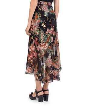 The Kooples - Bollywood Floral-Print Skirt