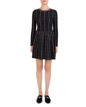 The Kooples Studded Sweater Dress