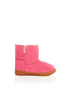 UGG® - Girls' Keelan Suede & Shearling Boots - Walker, Toddler