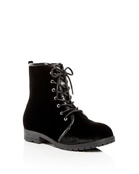 Michael Kors - Embellished Girls' Cara Mercer Velvet Boots - Toddler, Little Kid, Big Kid