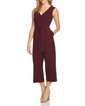 VINCE CAMUTO - Belted Crop Jumpsuit