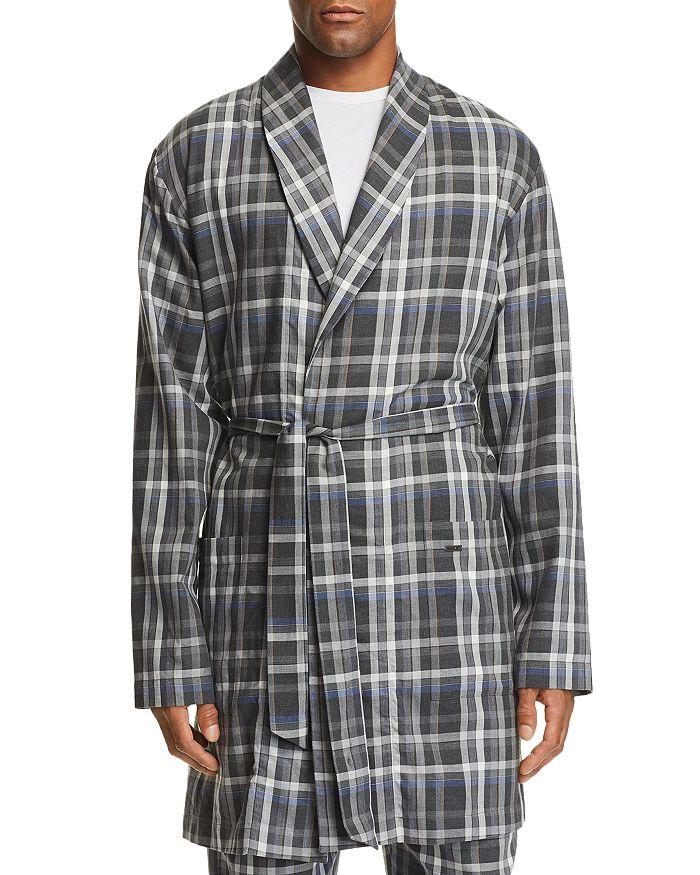 Hanro - Loran Plaid Robe