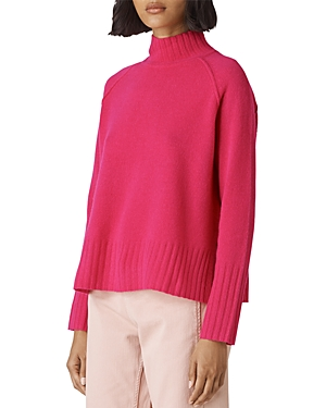 Whistles Funnel Neck Merino-Wool Sweater