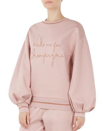 a3df89a96 Ted Baker - Ted Says Relax Dayzei Champagne Sweatshirt