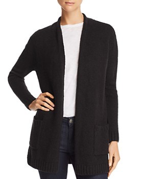 d080b30183 Velvet by Graham   Spencer - Patch Pocket Open-Front Cardigan - 100%  Exclusive ...