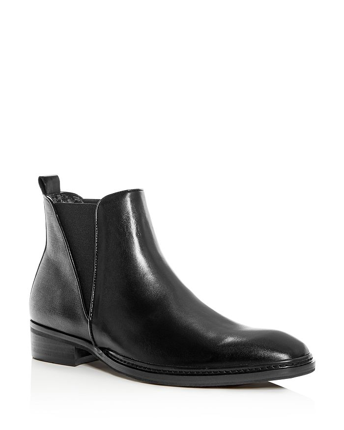 KARL LAGERFELD Paris - Men's Leather Chelsea Boots