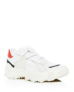PUMA - Men's Trailhaven Color-Block Leather Sneakers