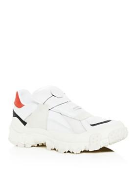 PUMA - Men's Trailhaven Color-Block Leather Sneakers
