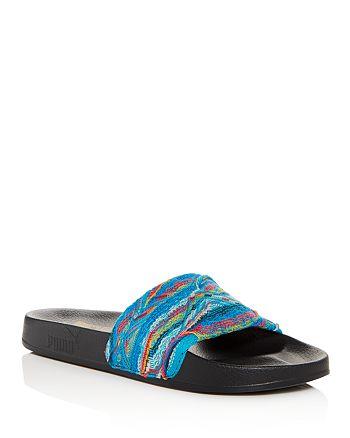 cde0627177d2 PUMA x Coogi Men s Leadcat Knit Slide Sandals