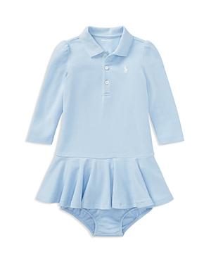 Ralph Lauren Girls' Polo Dress & Bloomers Set - Baby