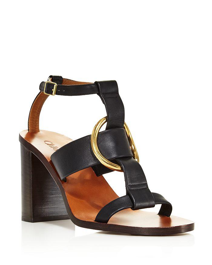 989775e055e Chloé - Women s Rony Leather T-Strap Sandals