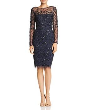 Adrianna Papell - Embellished Sheath Dress