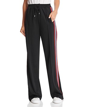 Rebecca Minkoff - Betsy Oversized Racing-Stripe Drawstring Pants