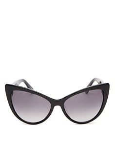 kate spade new york - Women's Karina Cat Eye Sunglasses, 56mm