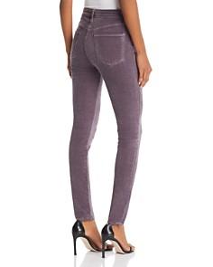 J Brand - Maria Skinny Velvet Jeans in Dark Whistle