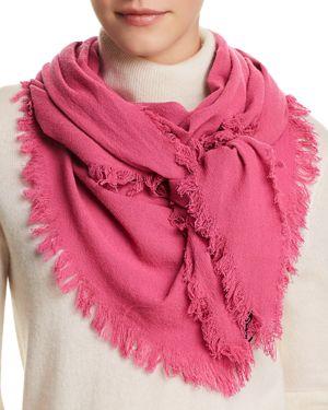 V FRAAS V Fraas Triangle Scarf in Pink