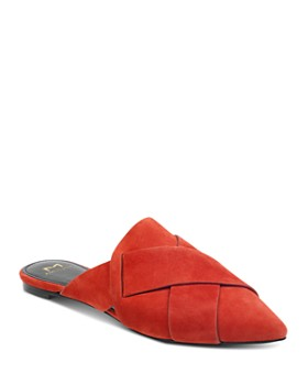Marc Fisher LTD. - Women's Sono Suede Pointed-Toe Mules