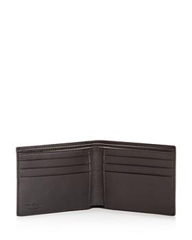 Salvatore Ferragamo - Studded Logo Leather Bi-Fold Wallet